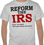 Reform the IRS T-shirt