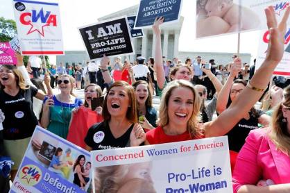 Concerned Women for America celebrate the Hobby Lobby decision