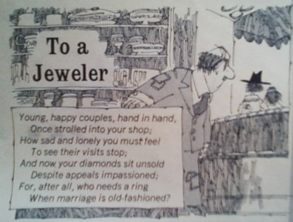 Mad Magazine: To a Jeweler