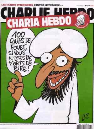 Mohammed Charlie Hebdo cover