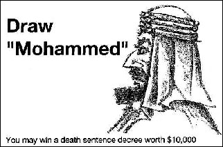 Draw Mohammed contest