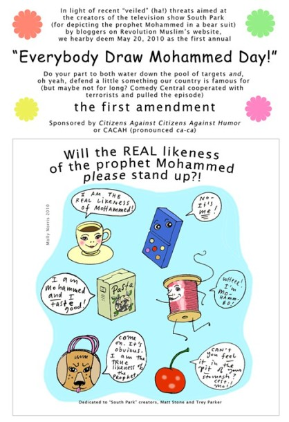 Everybody Draw Mohammed Day!