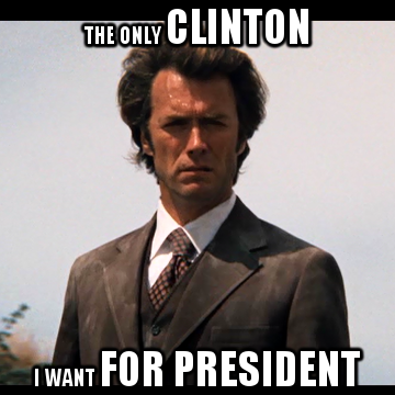 Clinton Eastwood for President