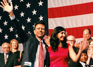 Mr. and Mrs. Jindal