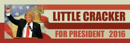 Little Cracker for President 2016