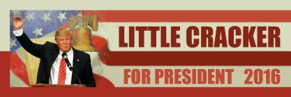 Little Cracker for President 2016