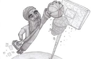 Dunking on Mohammed